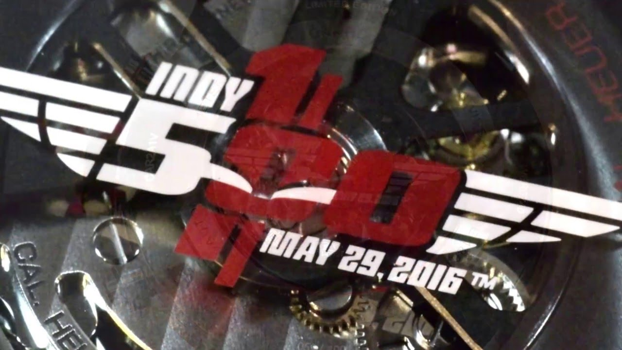 TAG Heuer s Indy 500 Watches for the 100th Running of the Indianapolis 500 b2d527a1d9