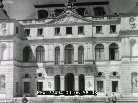 Brytyjski Dokument O Warszawie Z 1936 Roku