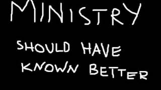 Ministry - Should have known better