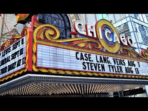 Chicago Theater Inside Tour & Fun Facts (HD)