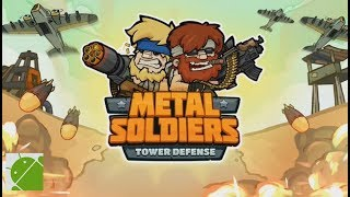Metal Soldiers TD Tower Defense - Android Gameplay FHD