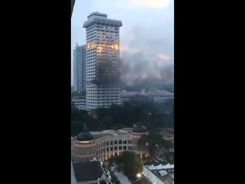 Bukit Aman on Fire!