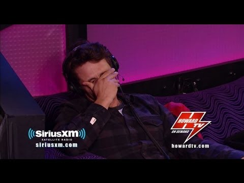 James Franco Talks Anne Hathaway Haters on Howard Stern!