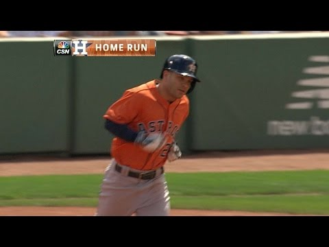 Altuve launches his first career grand slam