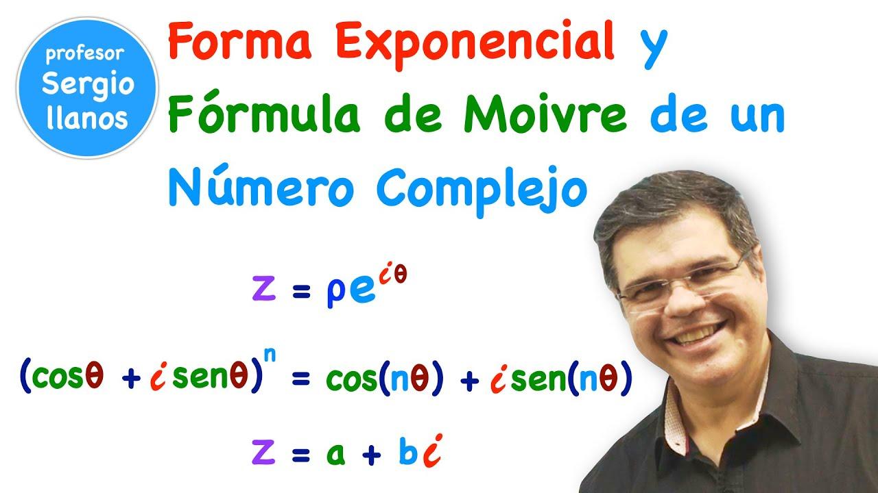 Números Complejos. Forma Exponencial y Fórmula de Moivre