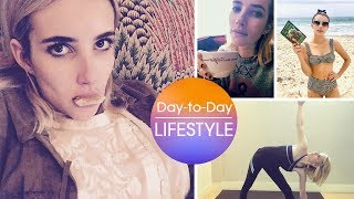 Emma Roberts Daily Activities and Lifestyle 2019