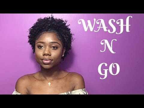 Realistic WASH N GO For Short 4c/b Natural Hair