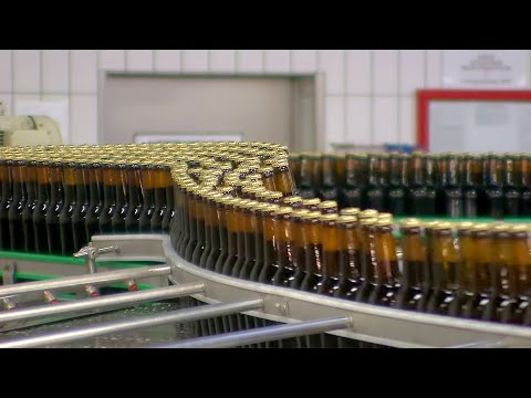 Automatic Bottling Plant    Highspeed Filling    Machines And Industry