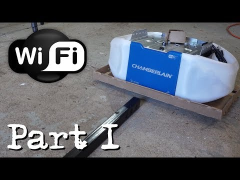 How to install a Chamberlain Garage Door Opener - PART 1