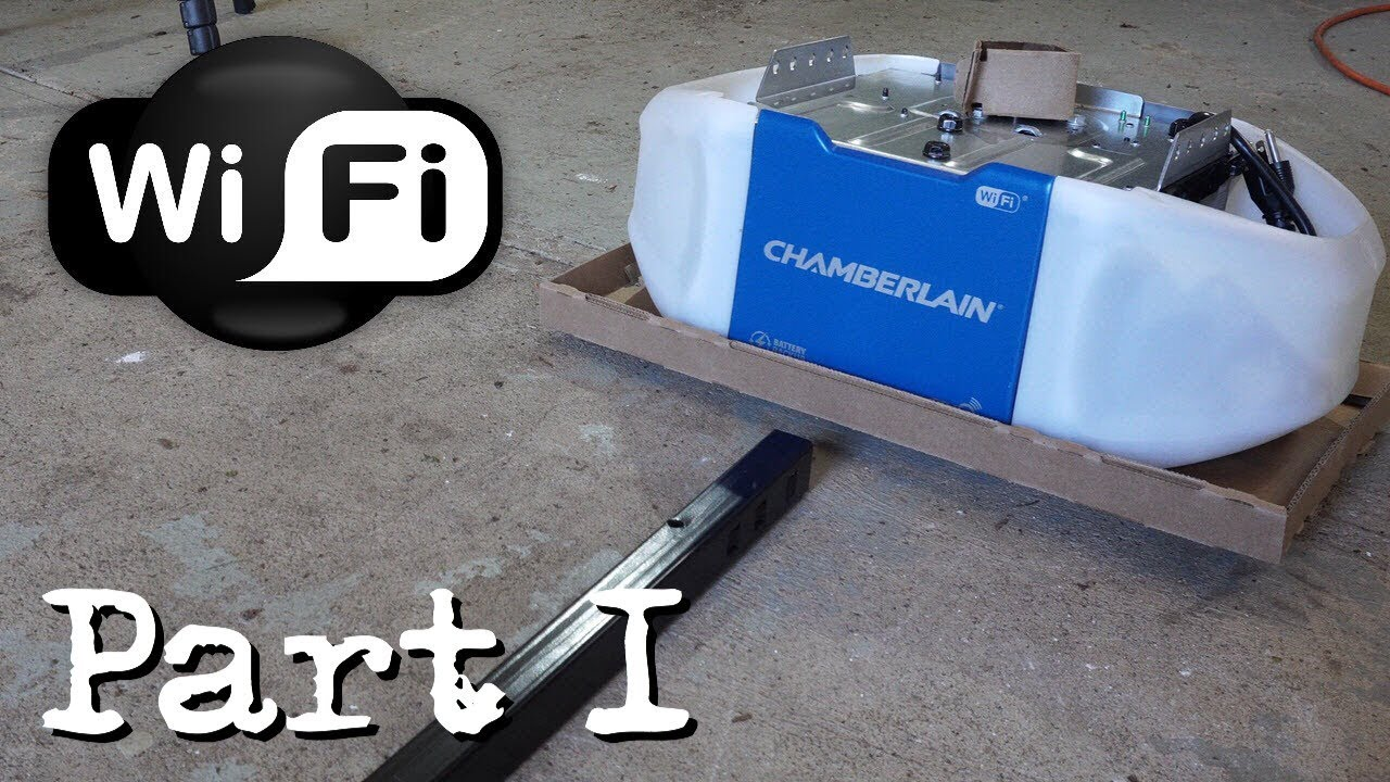 How To Install A Chamberlain Garage Door Opener Part 1