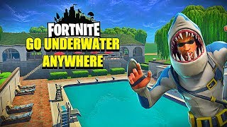 How To Go UnderWater With This Method! Fortnite New Season 6 Glitch!