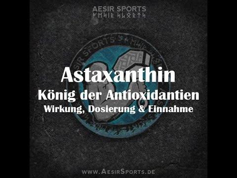 Astaxanthin - König der Antioxidantien | Wirkung, Dosierung & Einnahme