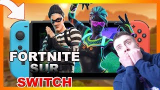 TEST FORTNITE SUR NINTENDO SWITCH !!!