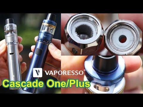 Unboxing Vaporesso Cascade One Plus Kit | Mesh Coil & Ceramic Coil Pen-Style Vape Kit | Elegomall
