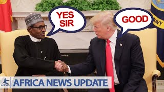 Nigeria President Buhari and to US President Trump Have a Sit Down