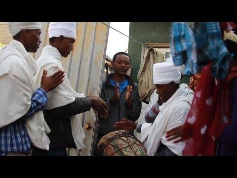 Ethiopians gather to celebrate their traditional Christmas