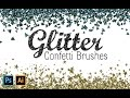 How to Create Glitter Confetti Brushes with Photoshop and Illustrator