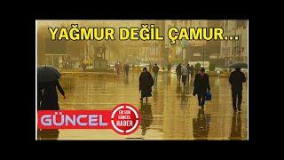 İzmir hava durumu... Meteoroloji'den çamur yağışı uyarısı!