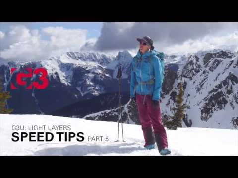 Effective Layering For Skinning Uphill - Speed Tips Ep. 5 - #G3U