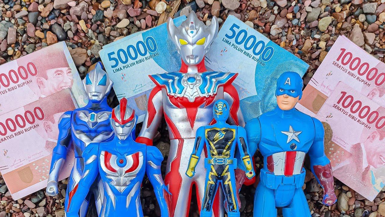 Menemukan Mainan Ultraman Zero Beyond Dan UANG
