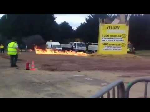 France Yellow Carnival Explosion Apr 2017