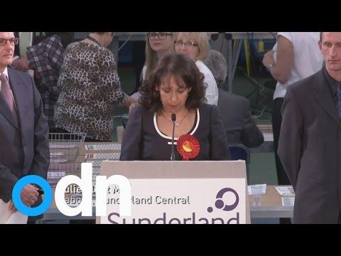 Labour hold Sunderland Central - General Election 2015