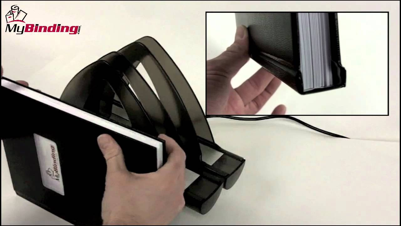 How To Use Thermal Binding Machine Youtube