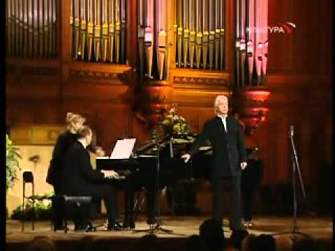 """Dmitri Hvorostovsky-""""Spring Waters""""(Rachmaninov)"""