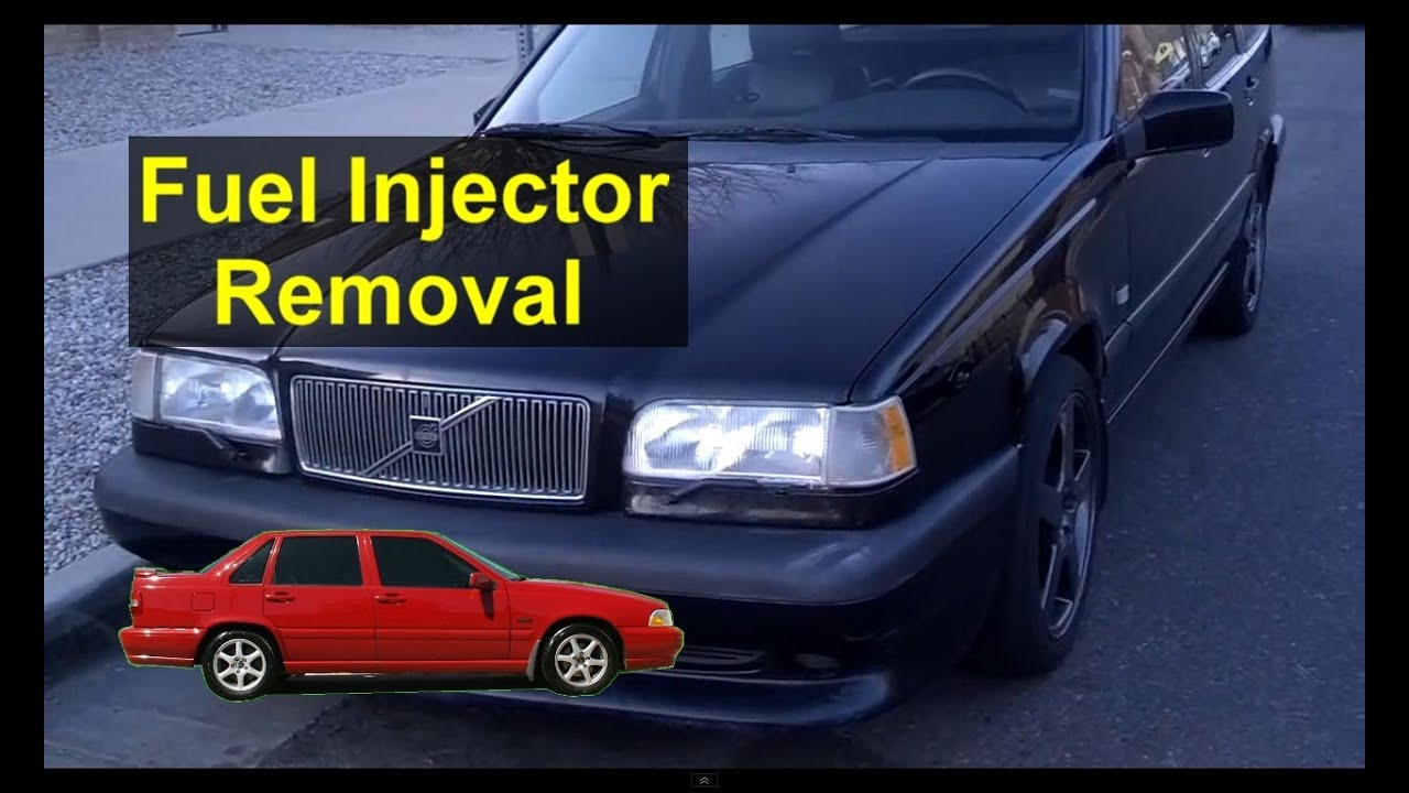 Fuel Injector And Rail Removal To Replace Seals Volvo 850 S70 240 Filter Location V70 Etc Auto Repair Series