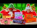 SPEED EATING THE BIGGEST CANDY CHALLENGE 🤤 | VLOGMAS DAY 3