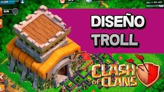 DISEÑO TROLL PARA AYUNTAMIENTO 8 | CLASH OF CLANS