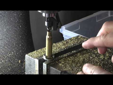 Rifle Reloading Brass Prep With The RCBS 3 Way Cutter