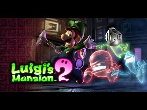 Luigi's Mansion 2 [Nintendo 3DS] Full Walkthrough