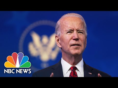 Biden Chief Of Staff Releases Plan For First 10 Days In Office | NBC Nightly News