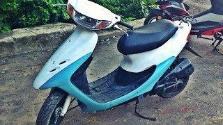 Как покрасить скутер(Покраска и замена поршневой на Honda Dio 34 Наш сайт: http://www.scooterets-shop.com/ Запчасти MotodaRT: http://motodart.ru/?partner=9 Запчасти..., 2014-07-04T21:16:33.000Z)