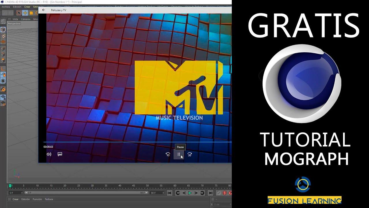 Cinema 4D Tutorial - Mograph Motion Graphics