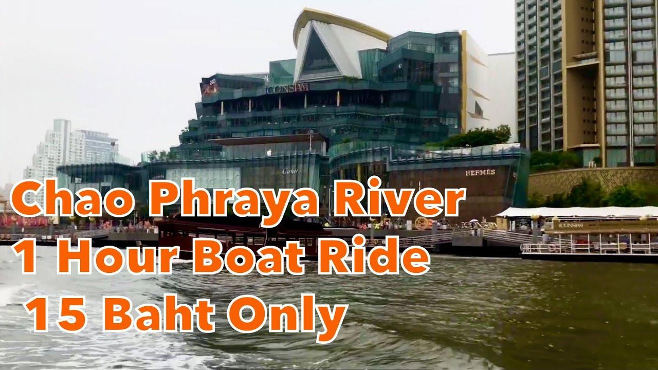 Chao Phraya River Boat Tour Bangkok only 0.50 Cents