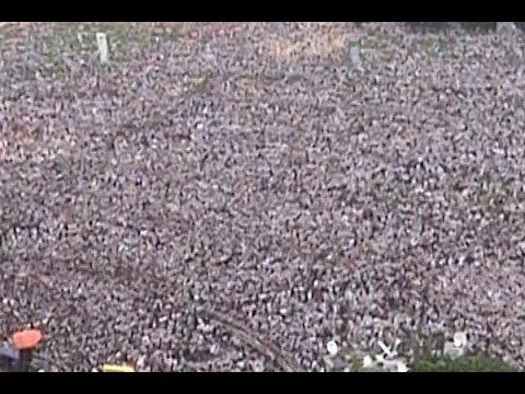 Lalu's Show off strength: Huge crowd gathered at Patna's Gandhi Maidan