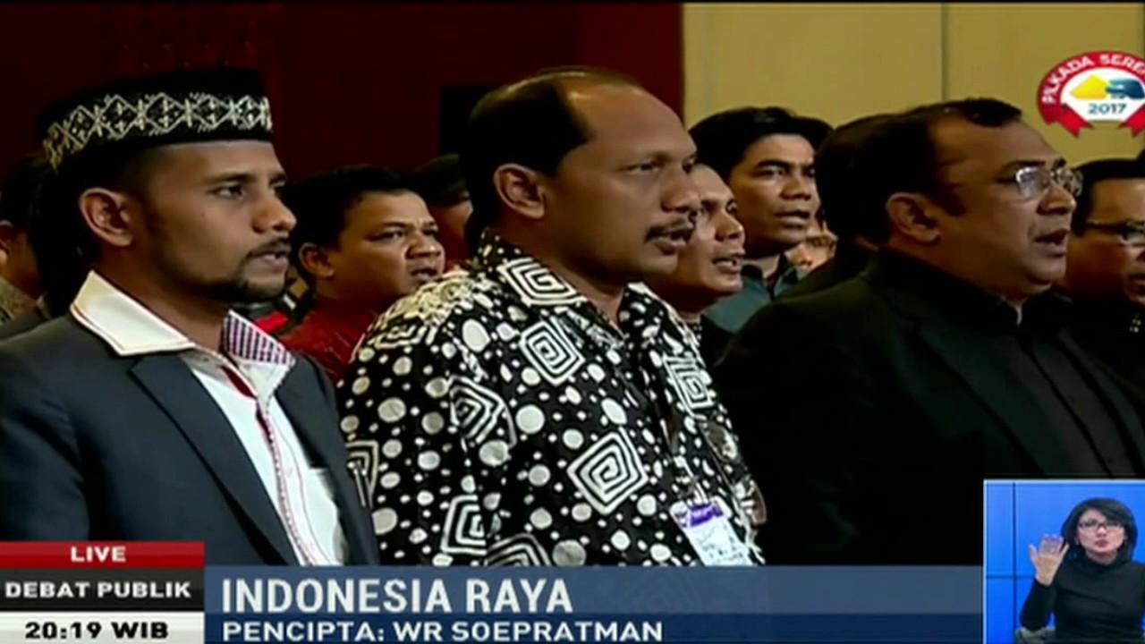 Para Eks Kombatan GAM Nyanyikan Lagu Indonesia Raya