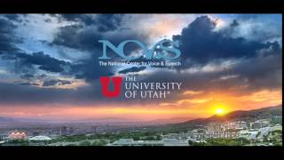NCVS - The National Center for Voice and Speech at the University of Utah