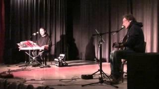 """Verdi pascoli"" (F. De André) - Mille papaveri rossi a Roma live in duo acustico"