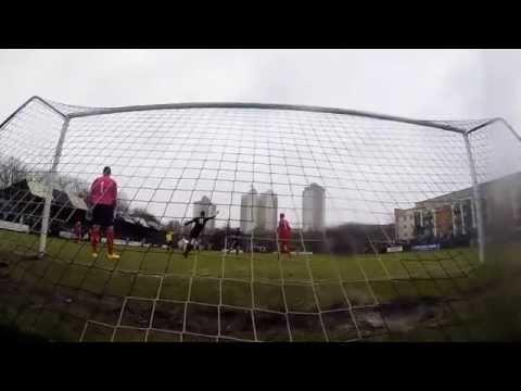 GoPro: Ryan McCann Curved Chip Goal   Pollok FC V Hurlford United   28/02/15