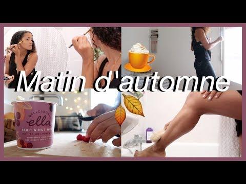HEALTHY MORNING ROUTINE ☕🍂 | Spéciale Matin D'automne Avant D'aller Au Boulot !