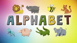 ABC LEARNING: Kids learning the Animal Alphabet - Alphabet Animals Letters + Alphabet Song