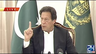 PM Imran Khan Speaks With Senior Journalists On Coronavirus