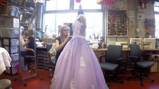 The making of... Once In a Lifetime costumes