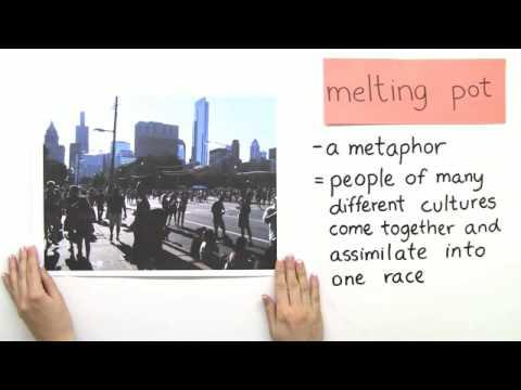 Melting Pot or Salad Bowl - die Gesellschaft der USA | Englisch | Landeskunde