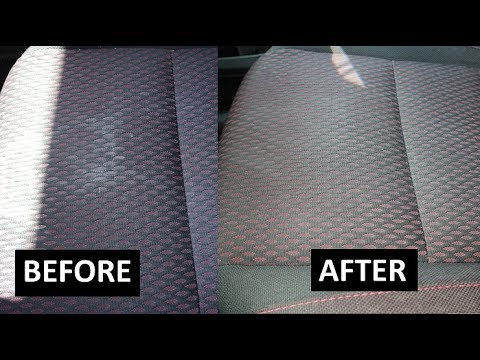 How to clean your car carpet   how to clean car seats