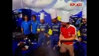 WRC guys having fun - Subaru challenge