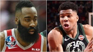James Harden's 42 not enough as Giannis Antetokounmpo's double-double leads Bucks | NBA Highlights